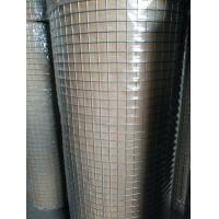 China Hot Dipped Galvanised Weld Mesh Rolls ,  Welded Wire Fence Panels Square Hope Shape on sale