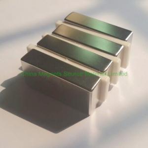 China N48 50.8x25.4x12.7mm neodymium magnet for wind turbine factory