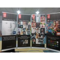 Buy cheap Trade Show Retractable Display Banners , Table Top Retractable Banners 80*200cm from Wholesalers