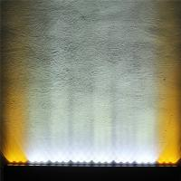 China Two color amber and white 240W Cree single row Led light bar 4X4 DHCB-L240SDC factory