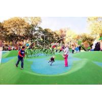 China Custom Playground Rubber Flooring , Environment Friendly Rubber Granules For Playground factory