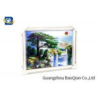 China Beautiful Landscape 3D Lenticular Images , Stereograph Lenticular 3D Printing factory