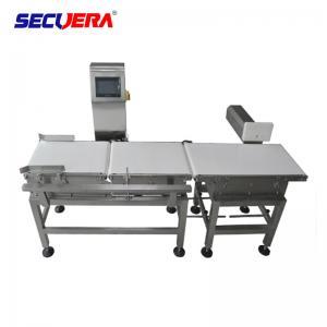 China Large LCD Display Food Processing Metal Detectors , Conveyor Type Needle Detector factory
