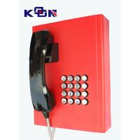Buy cheap Railway Red Emergency Phone Auto Dial Wearable Vandal Resistant from Wholesalers