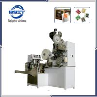 China DXDC8IV Automatic Tea Coffee Filter Paper Packaging Machinery with Inner and Outer Bag and Tag factory
