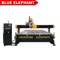 China Decoration Furniture Cnc Router  ELE3076 Auto Tool Chang Wood Cnc Router on sale