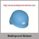 Buy cheap Wholesale China Made With UN Logo NIJ IIIA Security PASGT Bulletproof helmet from Wholesalers