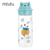 China Round Mouth 500ml 107g Cartoon Reusable Water Bottle factory