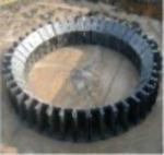 Furnace throat steel brick