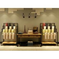 Buy cheap Scarf / Towel Shop Display Showcase Moveable Multi Storey Portable Shelf from Wholesalers