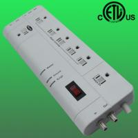 China 7-outlet US smart floor power strip with surge protector factory