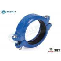 Buy cheap Ductile Iron Grooved Pipe Coupling DN20 - DN300 For Building Pipeline from Wholesalers
