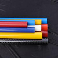 China Light Weight Circle Fiberglass Round Tube High Strength For Solar Panel Cleaning factory