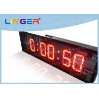 China IP65 Waterproof Led Countdown Clock Days Hours Minutes Seconds Iron Cabinet factory