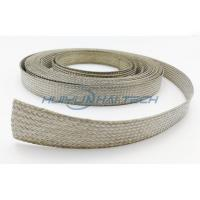 Buy cheap Metal Cable Shielding Sleeve , Automotive Braided Wire Loom Flame Retardant from Wholesalers