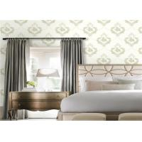 China Beautiful Non Woven Wallpaper / Wall Coverings , Traditional Damask Wallpaper on sale