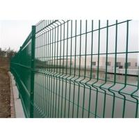 Buy cheap Anti climb construction steel welded mesh fencing durable and high security from Wholesalers