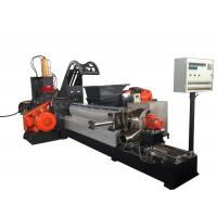 Buy cheap 180KW Masterbatch Single Screw Extruder Kneader Hot Cutting Pelleting System from Wholesalers