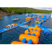 China Large Inflatable Water Obstacle , Aqua Blow Up Water Park CE Approved factory