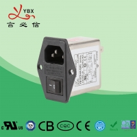 China Medical Emi Emc Filter 3A 120V/250VAC Low Pass Transfer Function factory