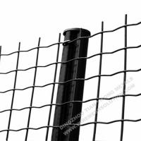 Buy cheap Electro Galvanised Wire Mesh Panels Green Powder Coating With Barb Top from Wholesalers