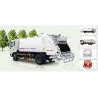 China Self Compress Rear Loader Garbage Truck factory
