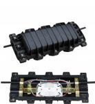 Buy cheap Horizontal Type 96 Core Fiber Distribution Box 4 Way In / Out Sealing Fiber Optic Closure from Wholesalers
