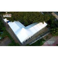 Quality 500 People Aluminum Frame Luxury Wedding Party Tent With Glass Walls Lining Curtain wholesale
