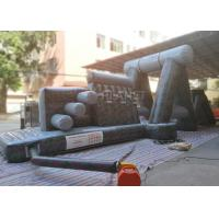 China Giant Inflatable Obstacle Course 0.55 Mm PVC Tarpaulin For Entertainment factory