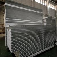 China 0.326mm corrugated steel sheet eps sandwich panel 5500x1150 for wall factory