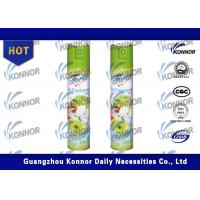 Buy cheap Air Freshener Spray Fruit Fragrance Natural 250ml 65*103.5mm ISO9001-2008 from Wholesalers