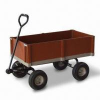 China 10-inch Wheel Garden Cart, Can be Used for Holding Flowerpots, with 15kg Loading Capacity factory