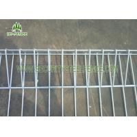 Buy cheap Powder Coated Green Roll Top Fencing PanelsWith 5.0mm Wire 75 × 150mm Hole from Wholesalers