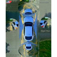 China Blind Spot Monitoring System / 3D 360 Degree Panoramic Parking Sensor Monitoring System on sale