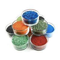 China Running Track Use Colored Rubber Granules With High Weather Stability factory