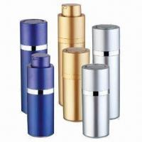 China Cosmetic Airless Bottle for Skin Care Cream, Various Colors are Available, OEM Orders are Welcome factory