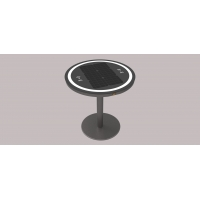 Buy cheap lithium battery 30W LiFePO4 Wireless Charging Coffee Table from wholesalers