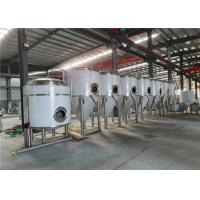 China PLC Control Stainless Steel 304 Bright Beer Tank Inner 3mm / Outer 2mm Thickness factory