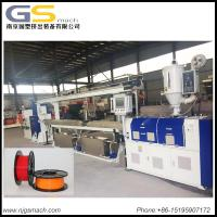 Buy cheap 15-30kg/H Capacity 3d Printer Filament Making Machine PLC Control System from Wholesalers
