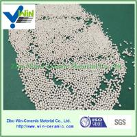 China high desnity 60%-65% ZrO2 1.0-1.2mm silicate zirconia sphere factory