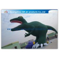 China Green Inflatable Cartoon Characters Decoration Large Inflatable Dinosaur Model factory