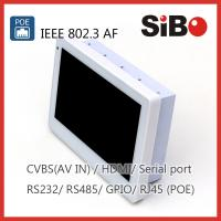 China Wall Flush Mounted Android Panel PC With POE RJ45 USB Host on sale