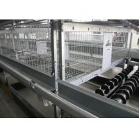 China Poultry Farm A Frame Layer Cages 1200×625×480 Mm Q235 Standard Steel Material factory