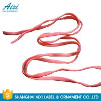 China Fabric Cotton Elastic Binding Tape Knit Polyester Elastic Band Pantone Colors factory
