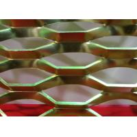 Buy cheap Diamond Powder Coated Expanded Metal Mesh with 0 . 4 mm - 5 . 0 mm Thickness from Wholesalers