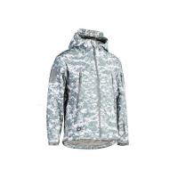 Quality Military Style ACU Tactical Fleece Jacket , Law Enforcement Jackets Spandex Material for sale