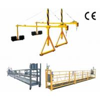 Buy cheap 800 Rated load Personalized Rope Steel Suspended Platform with Dipping Zinc from Wholesalers