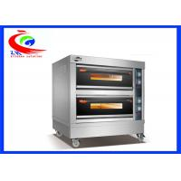 China Kitchen bakery equipment commercial electric bread oven pizza oven with big capacity factory