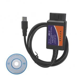 China ELM327 V1.5 Scanner Software USB Plastic with FT232RL Chip on sale