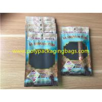 Buy cheap Custom Made Printed Plastic Cigar Bags With Transparent Windows from Wholesalers